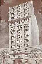MANHATTAN NYC HOTEL WENTWORTH WEST 46TH STREET POSTCARD