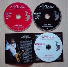 RAMONCÍN –''1978-2008 MEMORIA AUDIOVISUAL''- 2 CD + DVD. HAND SIGNED BY RAMONCÍN