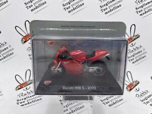 "Die Cast "" ducati 998 s - 2002 "" Ducati 1/24"