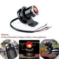 Custom Barke Stop Tail Light Lucas-Style For Harley Cafe Racer Bobber Chopper