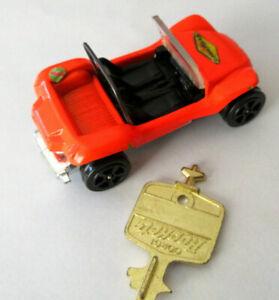 Vintage Corgi Rockets 910 GP Beach Buggy VW & Key Car Gt Britain Castrol label