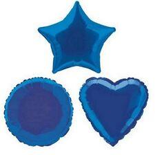 Amscan Star Foil Balloon Metallic Blue
