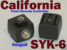 New SEAGULL SYK-6 Flash Hot Shoe Wireless Controller Slave Trigger Sony, Minolta