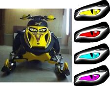 SKI DOO BRP OLDER REV MX Z SUMMIT MACH 600 ZRT  SX ZX HEADLIGHT  DECAL STICKER 1