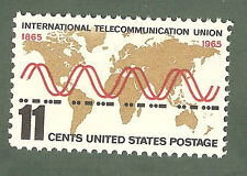 1274 International Telecommunication Union Postage Single M/nh (Free Shipping)