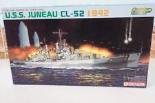 Dragon Models No.7066 1/700 Scale Uss Juneau Cl-52 1942 War Ship Model Kit
