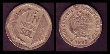 ★★ PEROU / PERU ● 1 NUEVO SOL 1993 ● (ref11) ★★
