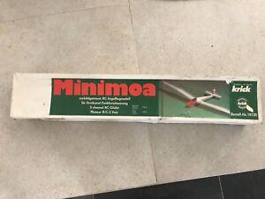 Krick Minimoa 1/5 scale R/C model glider kit