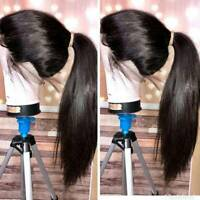 360 Lace Front Wig Straight 100% Malaysian Virgin Human Hair Wig Full Lace Wig J