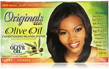 Africa's Best Olive Oil Conditioning Relaxer System, Super/Coarse 1 ea