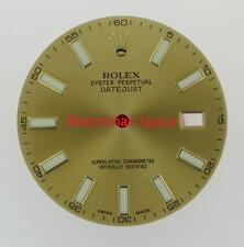 Original Men's Rolex Datejust II 116333 Champagne Luminous Stick Dial 2Tone #A23