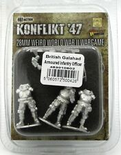 Konflikt '47 453010602 British Galahad Armoured Infantry Officer Command Warlord