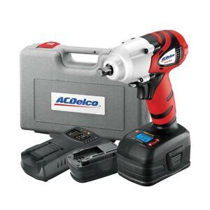 "New ACDelco ARI20120B Li-ion 18V 3/8"" Impact Wrench with Digital Clutch"