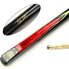 BCE Two Piece RED Mark Selby Heritage Matching Ash Snooker Pool Cue - HER-200