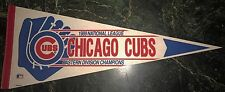 CHICAGO CUBS 1989 EASTERN DIVISION CHAMPS PENNANT