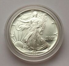 1993 P  PROOF SILVER EAGLE DOLLAR COIN FREE SHIPPING