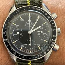OMEGA SPEEDMASTER REDUCED REF. 175.0032-1 CHRONOGRAPH WATCH 100% GENUINE 39 MM