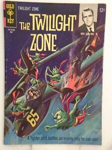 Gold Key THE TWILIGHT ZONE #11 (1965) George Wilson Painted Cover HIGH GRADE