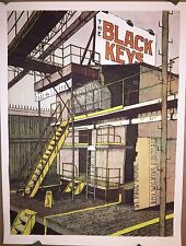THE BLACK KEYS POSTER CAGE THE ELEPHANT ST PAUL MN ARTIST AP PRINT LANDLAND X/30