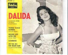 DALIDA - Tschau tschau Bambina    ***EP / FRA - Press***