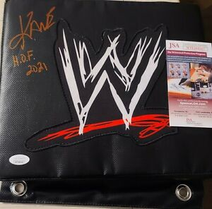 Kane Glenn Jacobs Signed Autographed TURNBUCKLE Wrestling WWE WWF JSA RED HOF