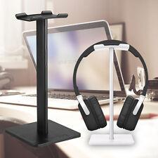 Headphone Stand Holder Earphone Hanger Headset Desk Display Rack Bracket Black