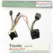 ISO-SOT-6000-n Lead,cable,adaptor for Parrot CK3100 Toyota Aygo 12-14