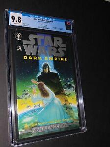 Star Wars Dark Empire #3 Platinum Edition CGC 9.8