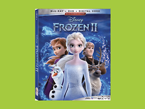Frozen 2 [Blu-ray]  PLUS FREE DVD WITH EXTRAS. FREE UK POST. SENT SAME DAY!!!