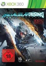 Microsoft XBOX 360 Spiel ***** Metal Gear Solid Rising: Revengeance **NEU*NEW*18