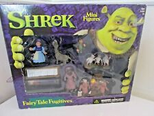 Shrek 3� Mini Figures Fairy Tale Fugitives Playset Box 2001 Mcfarlane Toys