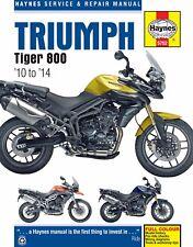 2011-2014 Triumph Tiger 800 HAYNES REPAIR MANUAL 5752