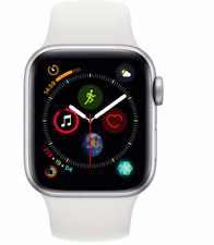 100% Authentic Apple Watch Series 4 GPS White Sport Band 40 mm Silver Sealed