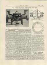 1927 The Davies Magnetic Seperator For Ores