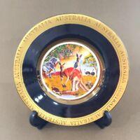 Australia Souvenir Plate w Stand-High Quality Australian Animal Kangaroo