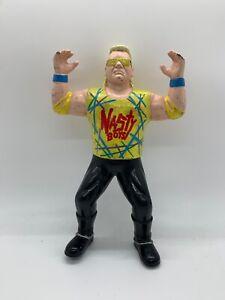 WWE Nasty Boys Brian Knobbs Figure OSFTM WCW Vintage Wrestling WWF Toy Used X2
