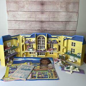 Mega Bloks Ritvik Fantasy Dream House 94012 Most Pieces/Instructions Yellow Blue