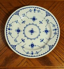 Furnivals DENMARK BLUE Round Butter Dish Bottom Plate Only England