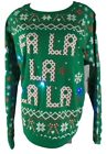 Fa La La La Light Up GRN Ugly Christmas Sweater Woman's Sweatshirt