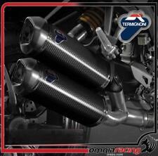 Terminali scarico Termignoni D126 Carbonio Racing Ducati Monster 1100 Evo 11>14
