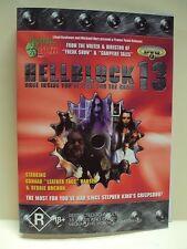 "HELLBLOCK 13 – DVD, TROMA, GUNNAR ""LEATHER FACE"" HANSEN, DEBBIE ROCHON"
