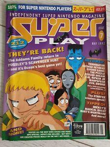 Issue 7 Super Play SNES Super Nintendo Magazine May 1993 Retro