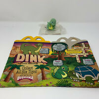 Vintage 1989 McDonalds Disneys Dink Happy Meal 1 Box and 1 Toy 1980s Fast Food