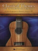 Classical Themes for Fingerstyle Ukulele TAB Music Book