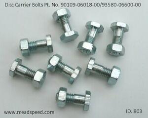Disc Carrier Bolts, 90109-06018-00, 95380-06600-00, RD250, TZ350, TZ750, XS650,