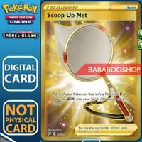 Scoop Up Net Full Art  207/192 Rebel Clash for Pokemon Card Online TCG Digital
