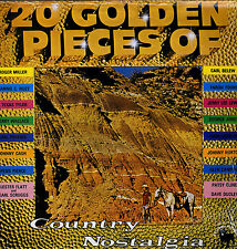 LP  20 Golden Pieces of Country Nostalgia - NEU! in Originalfolie verschweißt