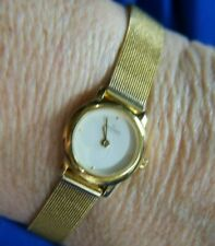 SKAGEN DENMARK153SGG STAINLESS STEEL FLEX BRACELET gold tone Watch
