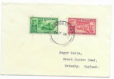 Gilbert & Ellice  1938  Fanning Island    New Zealand  Cover