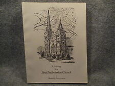 A History Of The First Presbyterian Church Meadville PA 1985 PB Booklet Book